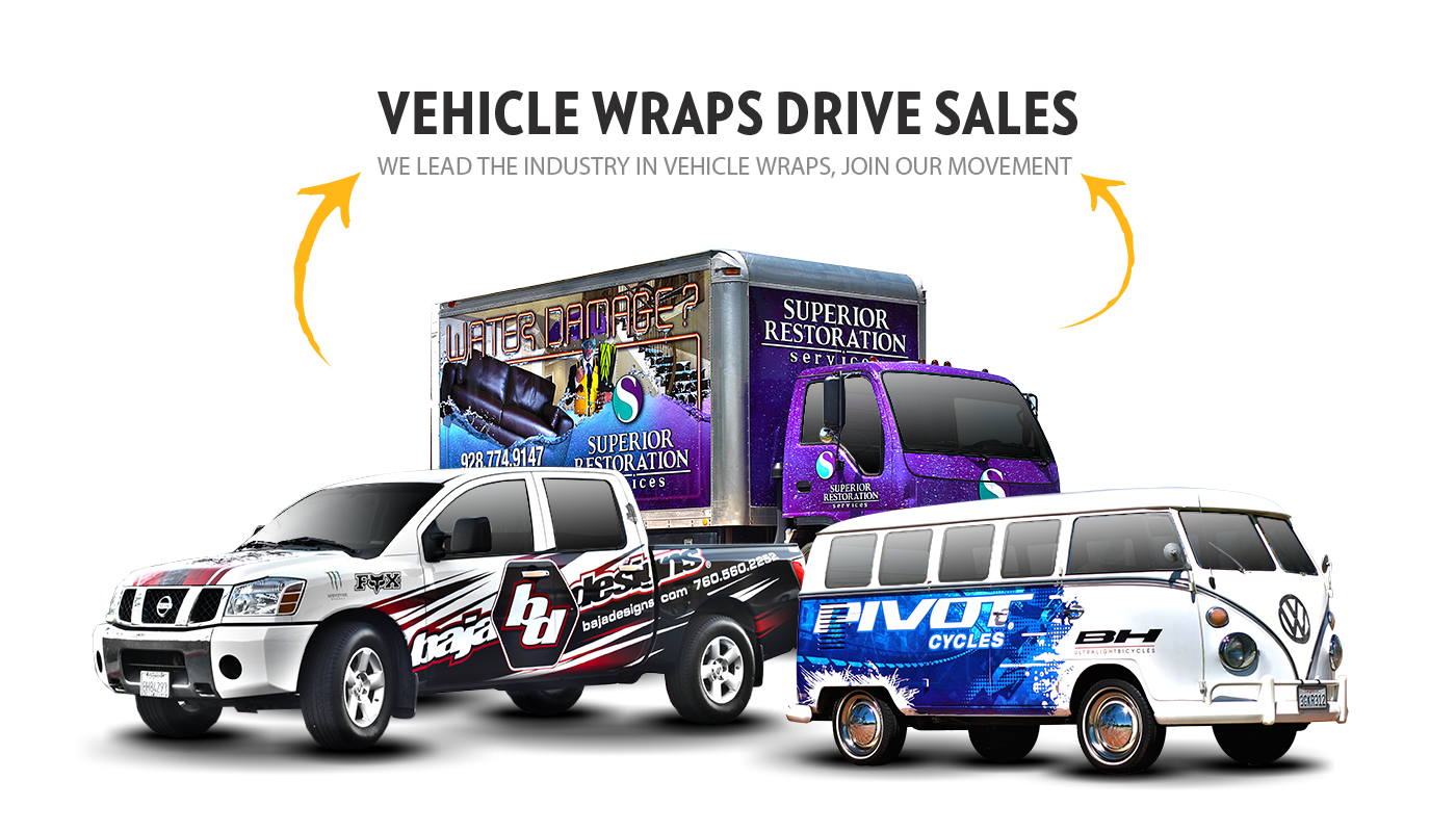 Vehicle Wraps Fleet Wraps Car Wraps Arizona Az